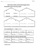 1st Grade Common Core Math Worksheets 1.OA.3 Addition and Subtraction Strategies