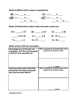 1st Grade Common Core Math Worksheets Subtract Multiples of 10 1.NBT.6