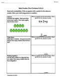 1st Grade Common Core Math Worksheets Word Problems within