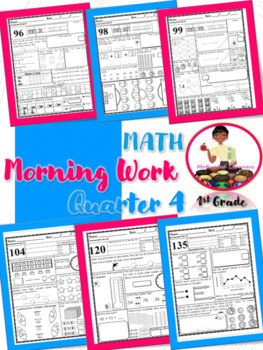 First Grade Morning Work (Math)-4th Qtr April, May, June