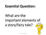 1st Grade Common Core Reading Essential Questions for Posting