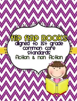 1st Grade Common Core Reading Flip Flap Books
