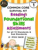 Common Core Reading Foundational Skills 1st Grade