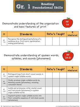 Common Core Reading Foundational Skills 1st Grade