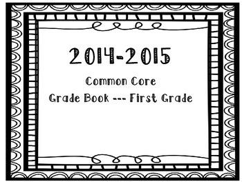 1st Grade Common Core Record Book