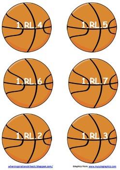 1st Grade Common Core Sports Display