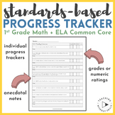 1st Grade Common Core Assessment & Anecdotal Notes- Standa