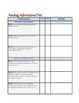 """1st Grade Common Core Standards - ELA and Math """"Notes & Co"""