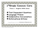 1st Grade Common Core Supplement to Houghton Mifflin