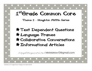 1st Grade Common Core Supplement to Houghton Mifflin