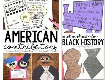 Famous Americans and Inventors Integrated Unit