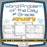 Word Problems 1st Grade, January, Spiral Review, Distance