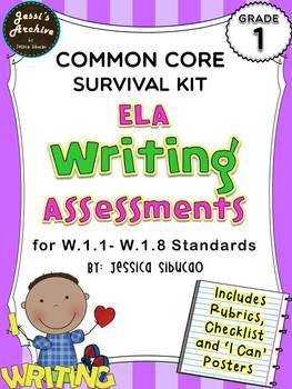 Common Core Writing 1st Grade