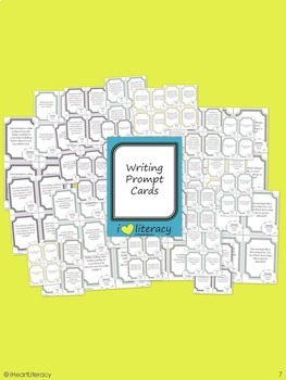 Writing Prompts 1st Grade Common Core Bundle – December, January, February
