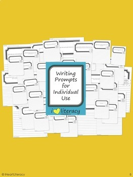 Writing Prompts 1st Grade Common Core Bundle – June, July, August