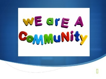 1st Grade Community Unit