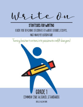 Writing 1st Grade Common Core  Writing Lady