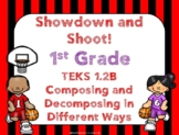 1st Grade Compose and Decompose Numbers Showdown Game TEKS 1.2B