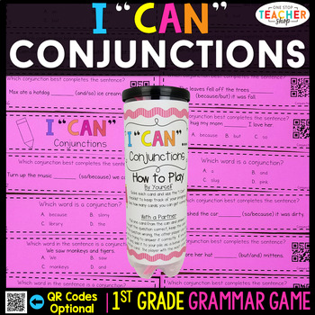 1st Grade Conjunctions Game