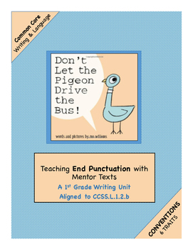 """1st Grade Conventions (Trait)  Writing Unit Using """"Don't L"""