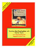 1st Grade Conventions Trait:  Writing Unit using David Goes to School