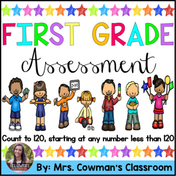 1st Grade Counting to 120 Assessment- Common Core Aligned