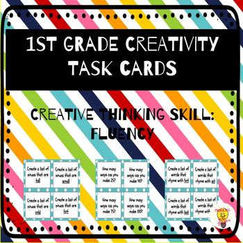 1st Grade Creative Thinking: Fluency