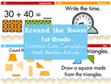 1st Grade Cumulative Math Review