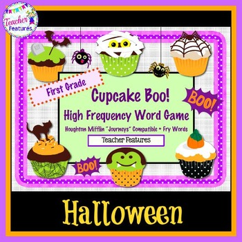 High Frequency Word Game for First Grade (Halloween)