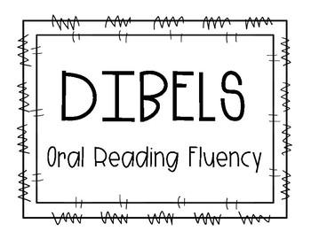1st Grade DIBELS EOY DORF (Oral Reading Fluency) Growth Clip Chart