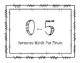 1st Grade DIBELS EOY NWF WWR (whole words read) Growth Clip Chart