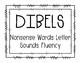 1st Grade DIBELS Goal and Growth Clip Charts *BUNDLE*