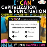 1st Grade DIGITAL Grammar Game | Capitalization & Punctuation