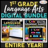 1st Grade DIGITAL Language Arts BUNDLE | Google Classroom