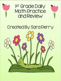 1st Grade Daily Math Practice and Review/Homework