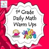 1st Grade Math Warm Ups/Morning Work
