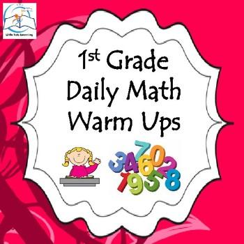 1st Grade Math Warm Ups/Morning Work