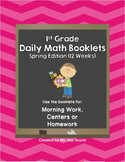 1st Grade Daily Math-Spring Edition