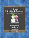 1st Grade Daily Math-Winter Edition