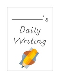1st Grade Daily Writing Notebook