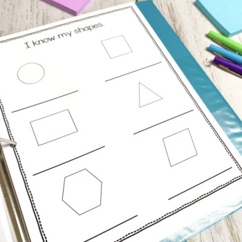 1st Grade Student Data Binder for Reading and Math