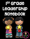 1st Grade Data Notebook-1st Grade Data Binder-1st Grade Leadership Notebook
