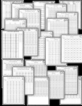 1st Grade Data Notebook-1st Grade Data Binder-1st Grade Leadership Notebook