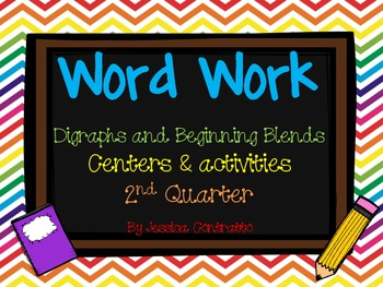 1st Grade Developmental Word Work Quarter 2