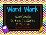 1st Grade Developmental Word Work Quarter 1