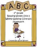 Reading Street 2008 1st Grade Differentiated Spelling Homework Unit 5 (L.1.2.d)
