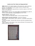 1st Grade Differentiated Social Studies Lesson Plan