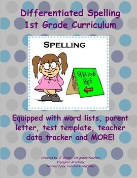 1st Grade Differentiated Spelling Curriculum