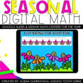 1st Grade Digital Math Centers | Seasonal | Google Classro