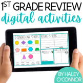 1st Grade Digital Review {Review for Distance Learning}